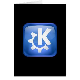 Linux KDE Hälsningskort