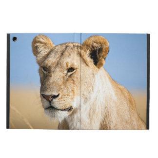 Lioness mot blå himmel iPad air skydd