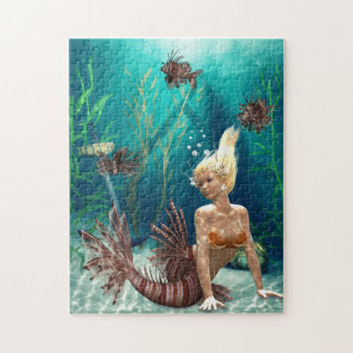 Lionfishsjöjungfrupussel Pussel