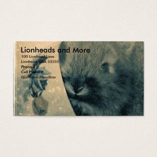 Lionheads och mer visitkort