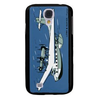 Liore & Oliver flygplan Galaxy S4 Fodral