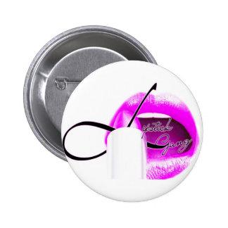 #lipstickgang knäppas standard knapp rund 5.7 cm