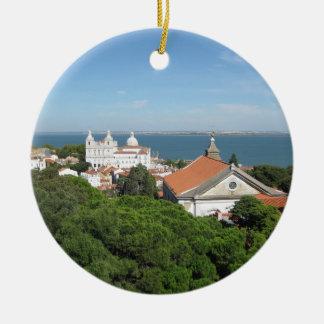 Lisbon Julgransprydnad Keramik