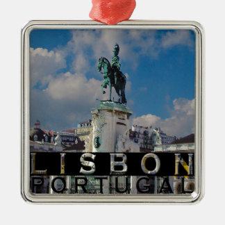 Lisbon Julgransprydnad Metall