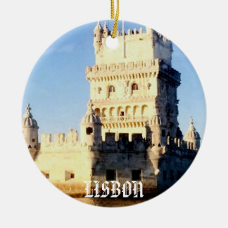 Lisbon julprydnad julgransprydnad keramik