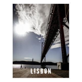 Lisbon Portugal postard Vykort