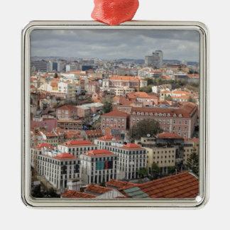 Lisbon rooftophorisont julgransprydnad metall