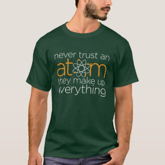 Lita på aldrig en Atom T Shirts