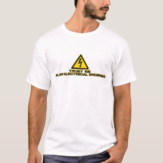 Lita på en elektrisk ingenjör (tända), tshirts