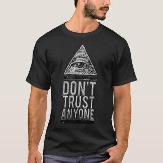 Lita på inte någon t shirt