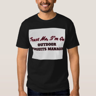 Lita på mig I-förmiddagen en utomhus- jaktchef T Shirt