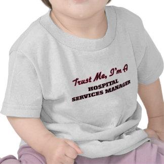 Lita på mig I-förmiddagen som ett sjukhus servar Tshirts
