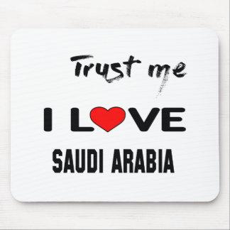 Lita på mig som jag älskar Saudiarabien. Musmattor