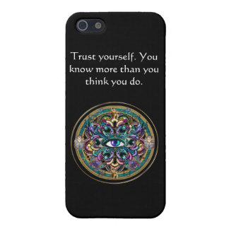 Lita på sig Yourself ~ ögonen av världsmandalaen iPhone 5 Cases