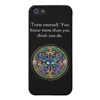 Lita på sig Yourself ~ ögonen av världsmandalaen iPhone 5 Cover