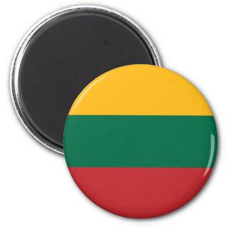 Litauen flaggamagnet kylskåpmagneter