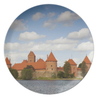 Litauen Trakai, Trakai historisk medborgare 2 Fest Tallrikar