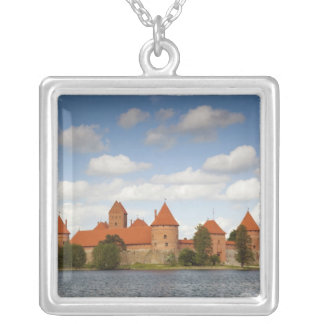 Litauen Trakai, Trakai historisk medborgare 2 Silverpläterat Halsband