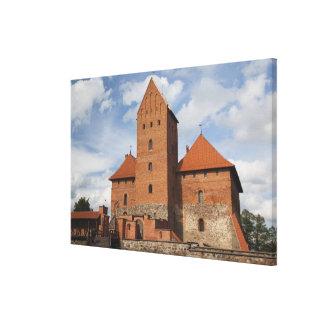 Litauen Trakai, Trakai historisk medborgare 3 Canvastryck