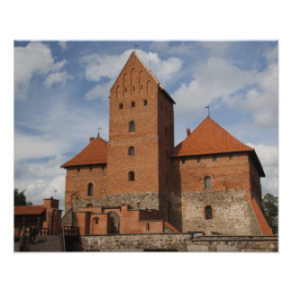 Litauen Trakai, Trakai historisk medborgare 3 Poster