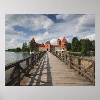 Litauen Trakai, Trakai historisk medborgare Poster