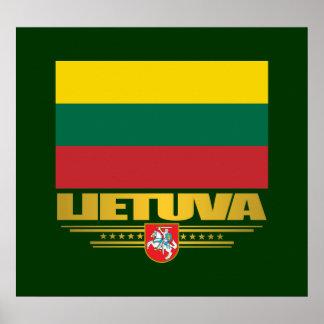 Litauisk pride poster