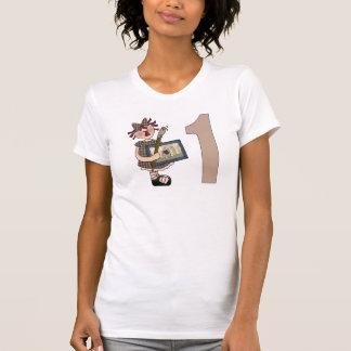 Lite 1st födelsedag för konstnär t shirt