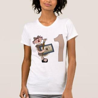 Lite 1st födelsedag för konstnär t-shirts