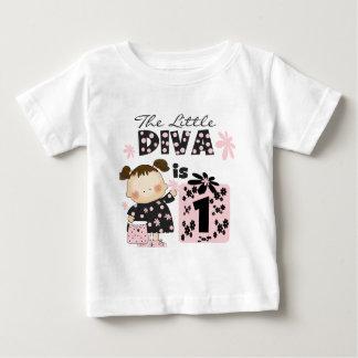 Lite 1st födelsedagTshirts och gåvor för Diva Tee Shirt