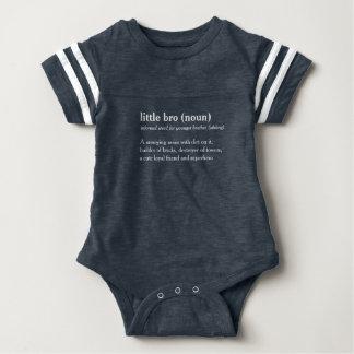 lite bebiset för text för brodefinitionen växer tröja