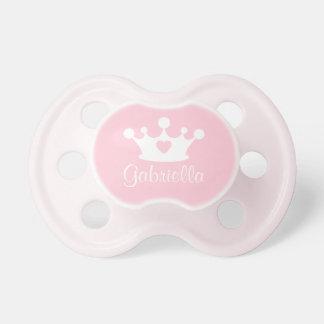 Lite beställnings- babynappar för Princess | Napp För Baby