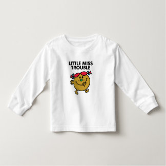 Lite besvärar Fröcken | svart bokstäver T-shirt
