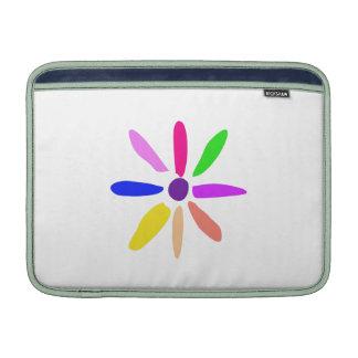 Lite blomma sleeve för MacBook air