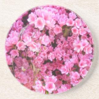 Lite blommor underlägg sandsten