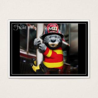 Lite brandman visitkort