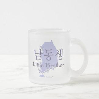 Lite broder (koreanen) frostad glasmugg