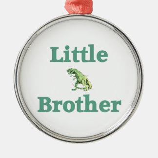 Lite broderT-Rex Dinosaur Julgransprydnad Metall