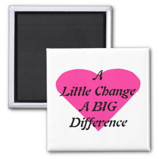 Lite en ändring en STOR skillnad Magnet