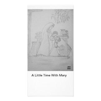 Lite en Time med Mary Fotokort