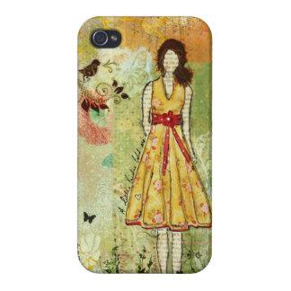 Lite ett fodral för pippiiPhone 4 av Janelle Nicho iPhone 4 Cover