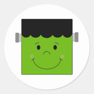 Lite Frankenstein Runt Klistermärke