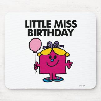 Lite Fröcken födelsedag med rosaballongen Musmatta
