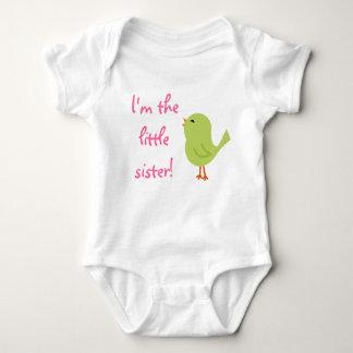 Lite gladlynt fågelskjorta för syster tröja