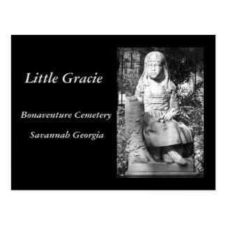 Lite Gracie i den Bonaventure kyrkogården Vykort