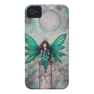Lite grön Fae gotisk felik fantasikonst iPhone 4 Case-Mate Cases