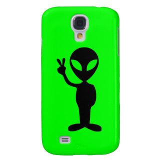 Lite grön främling galaxy s4 fodral