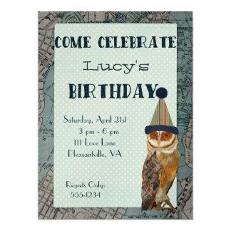 LITE inbjudan för UGGLAKARTAfödelsedag