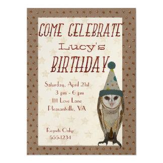 LITE inbjudan för UGGLASTJÄRNAfödelsedag