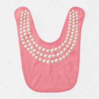 Lite juvel (pärlor, rosor) hakklapp