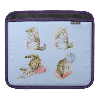 Lite katt och mus sleeve för iPads